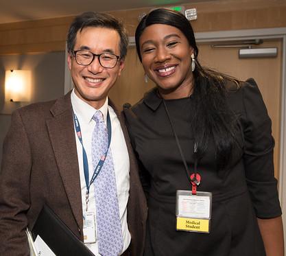Ed Kim and Ogonna Nnamani